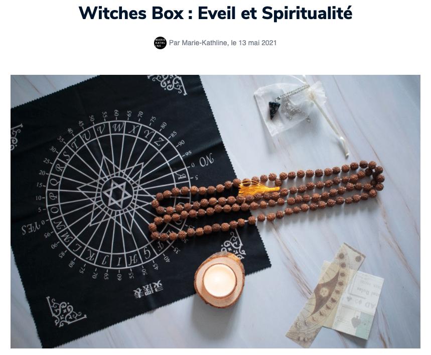 avis witches box la box du mois