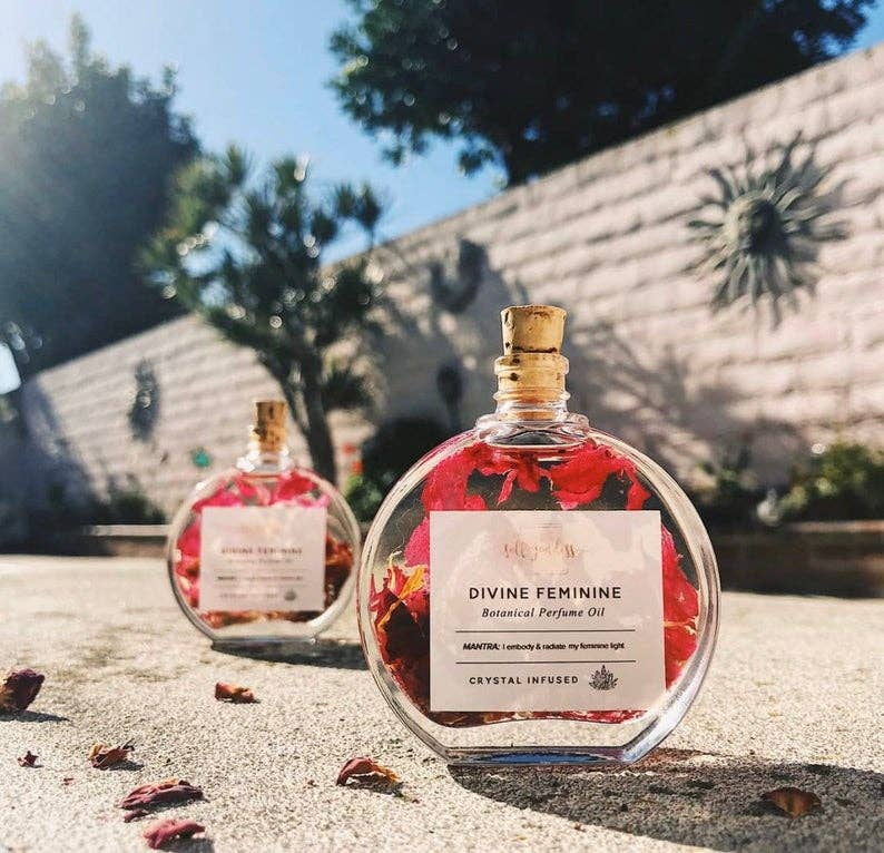Huile De Parfum Féminin Sacré